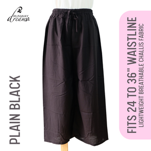 Ankle Square Pants (24 to 36 Waistline)
