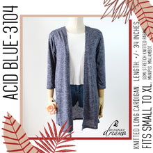 Load image into Gallery viewer, Knitted Long Cardigan