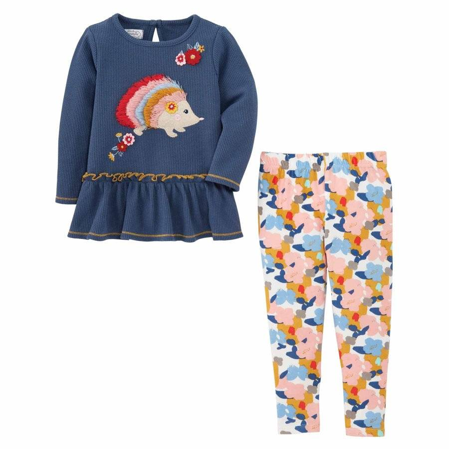 Hedgehog Tunic and Leggings Set