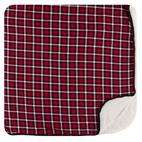 Holiday Plaid Throw Blanket
