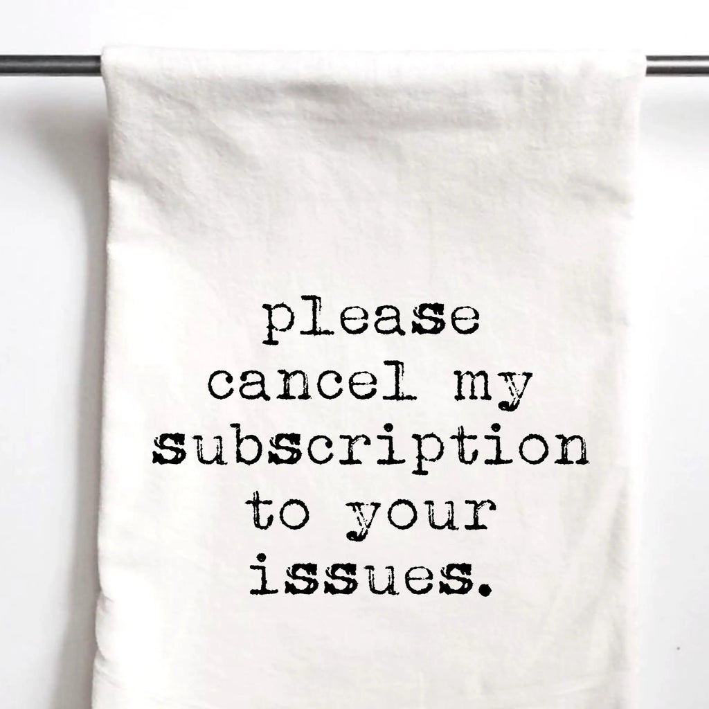 Subscription Towel
