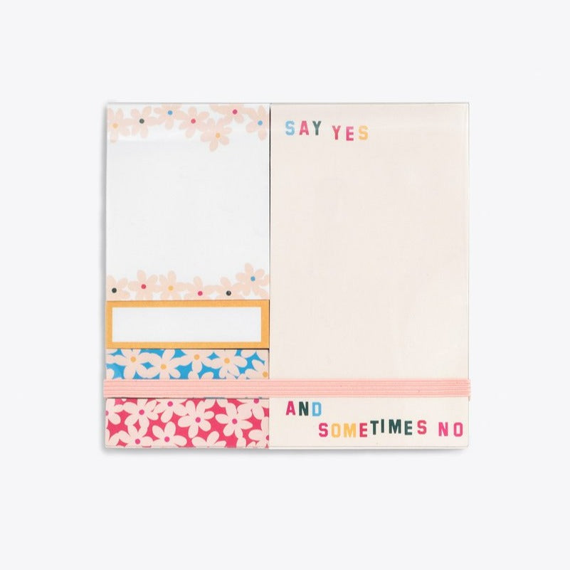 ban.do daisies sticky note set