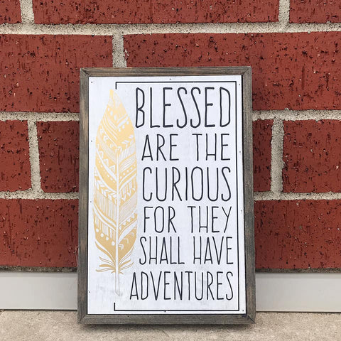 Blessed Barn Box Sign