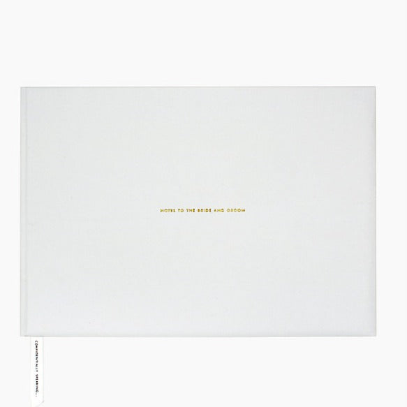 Kate Spade New York Mr & Mrs Guest Book