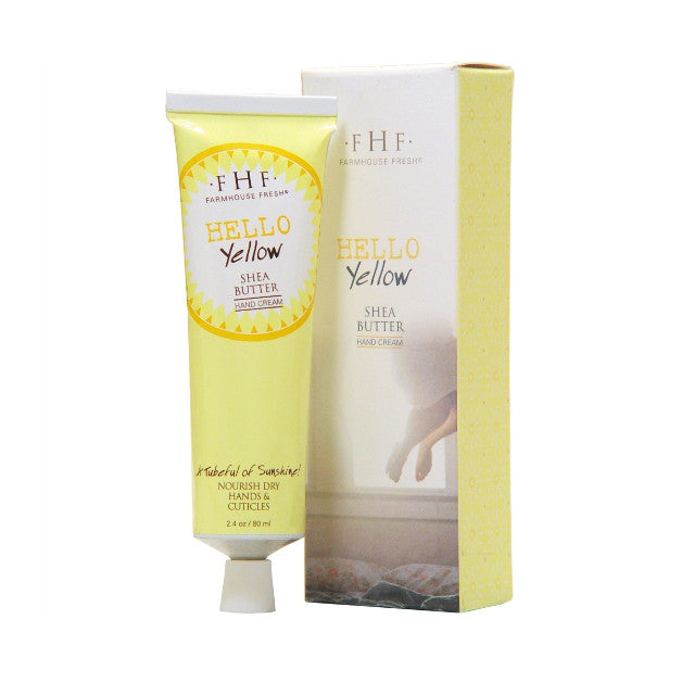 hello yellow hand cream