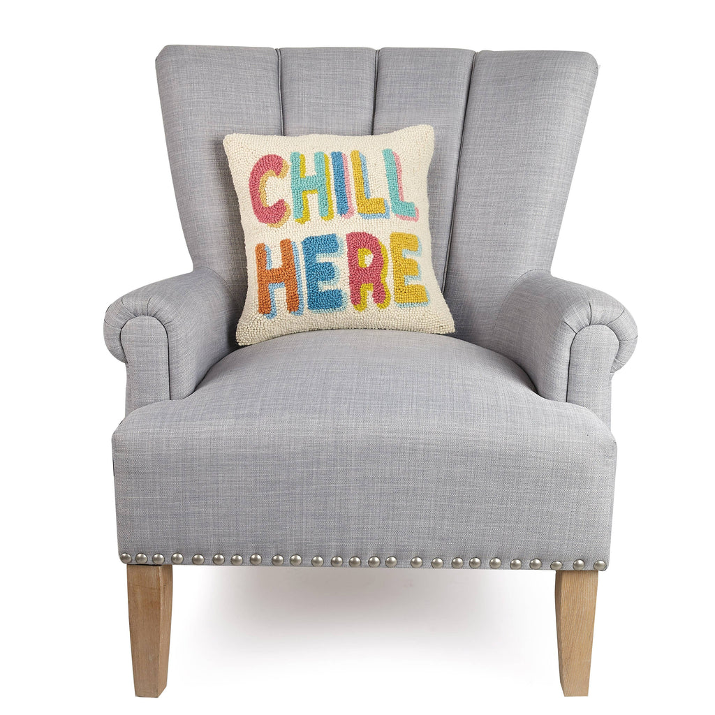 Chill Here Pillow