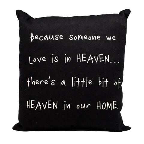 Heaven In Our Home Pillow