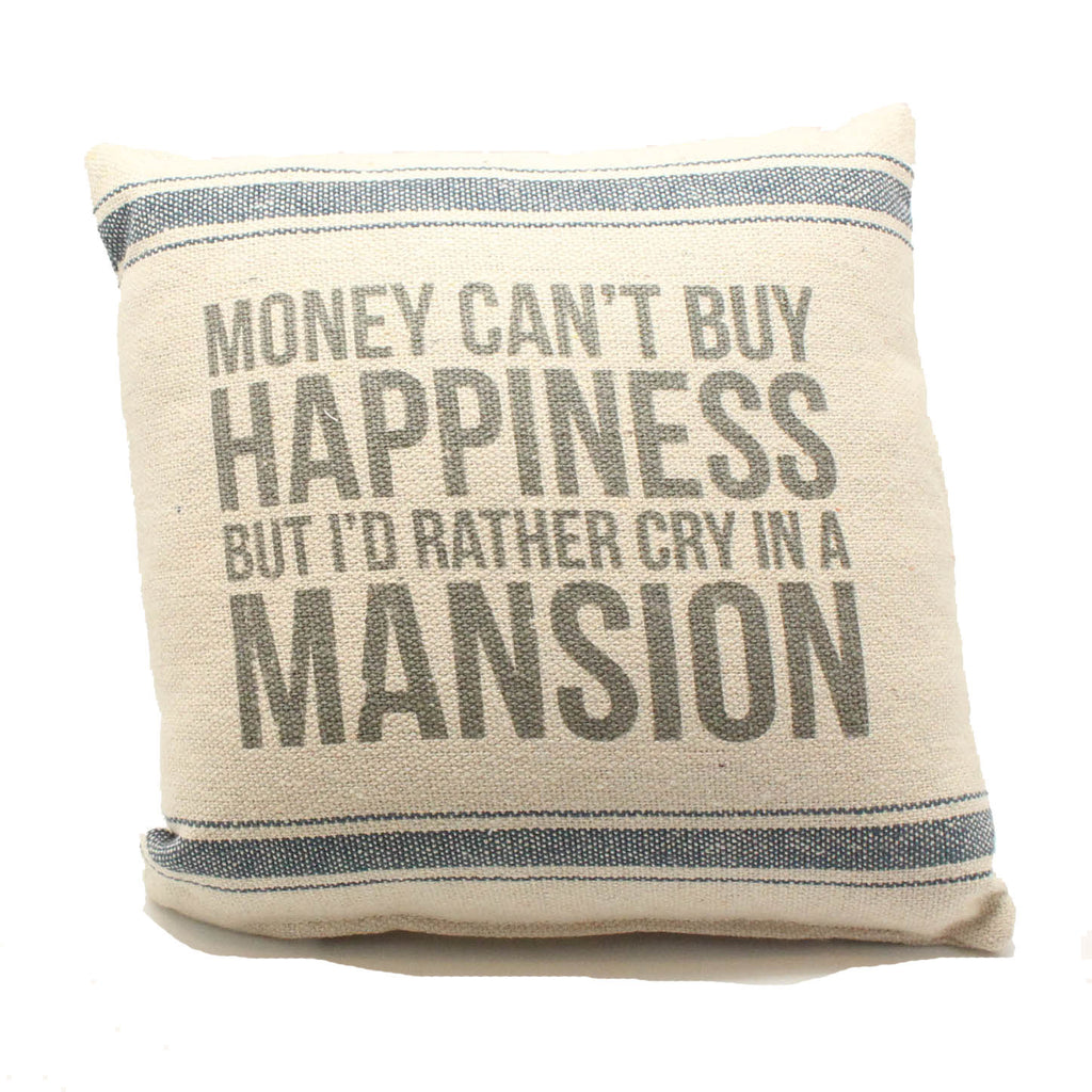 Cry in a Mansion Pillow