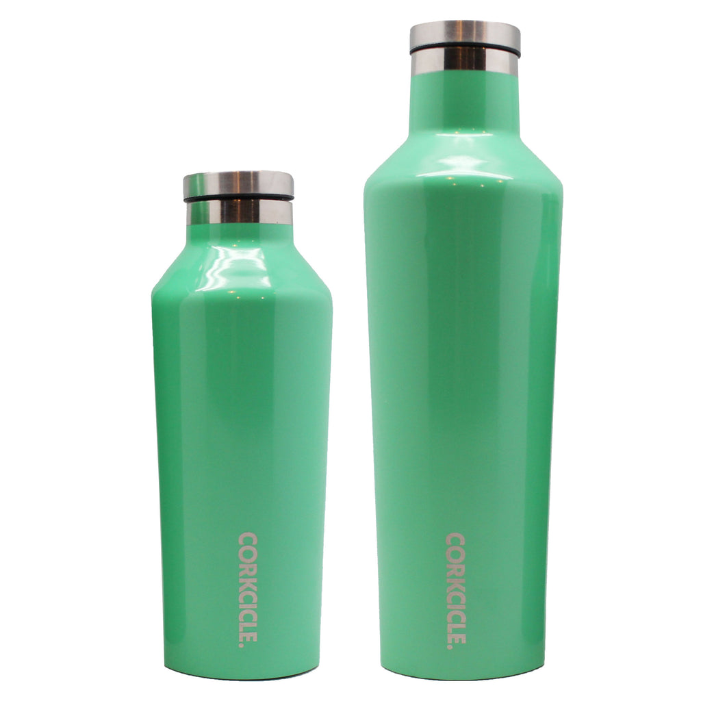 thermal bottle green