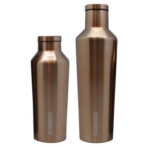 thermal bottle gold