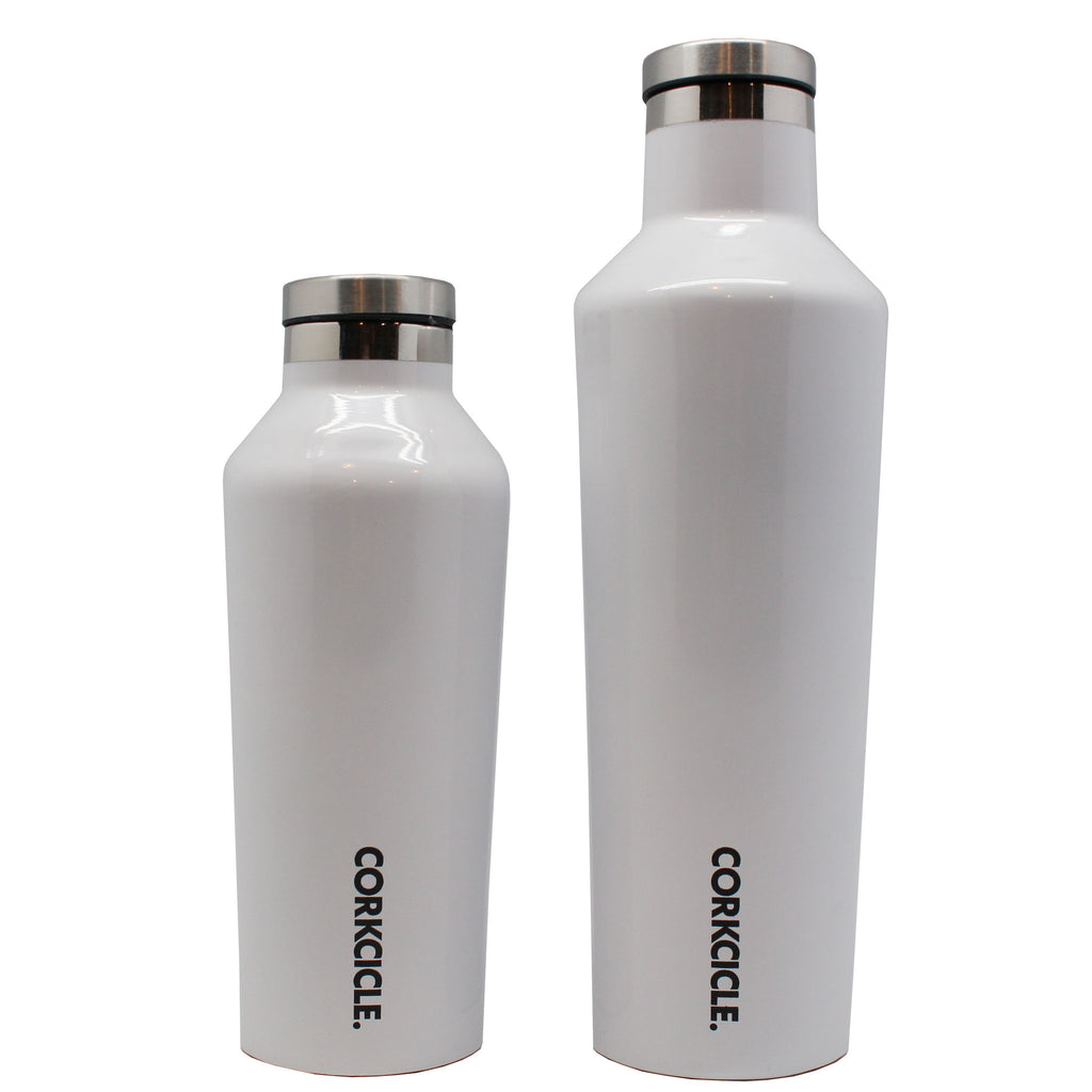 thermal bottle white