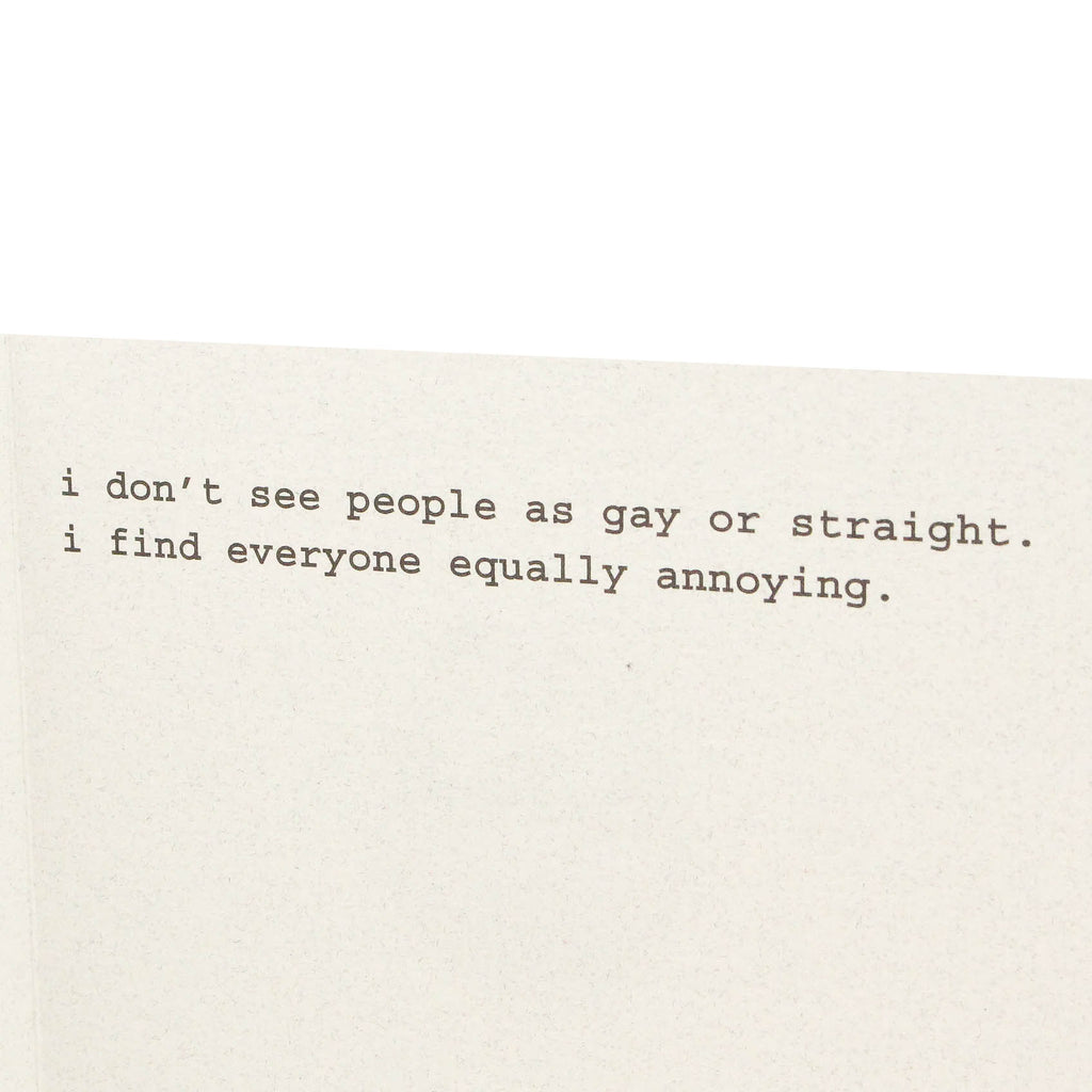 Gay or Straight Card