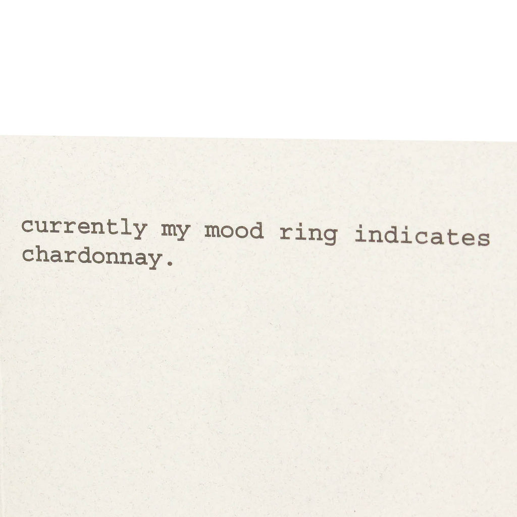 Mood Ring Card