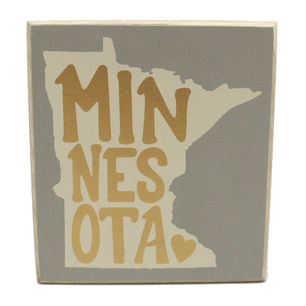 Minnesota Box Sign