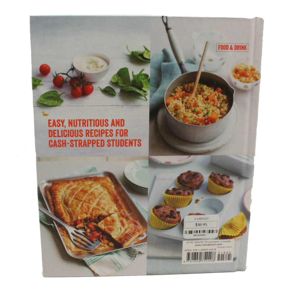 Hungry Student Cookbook Back