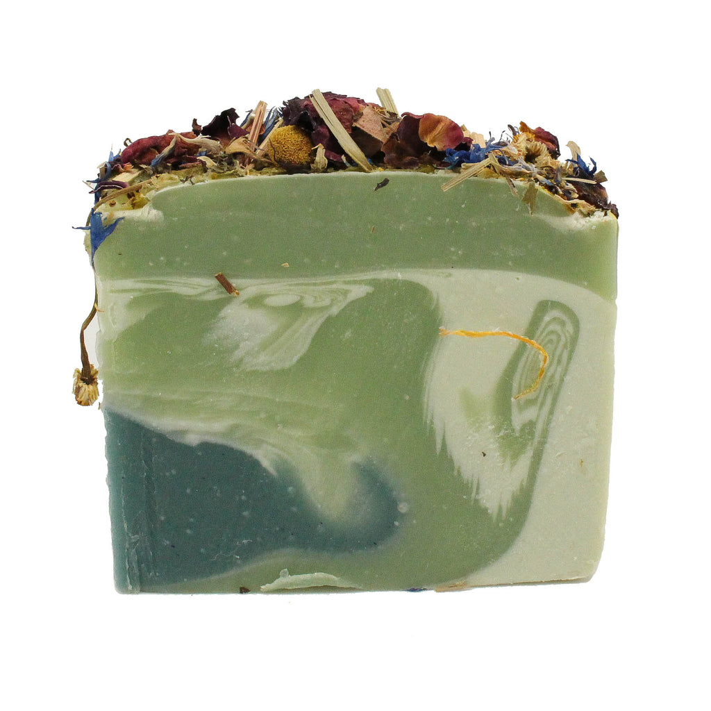 mint fincheberry soap