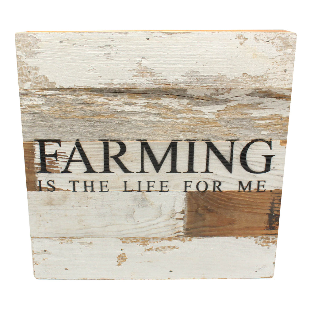 Farming is the life for me