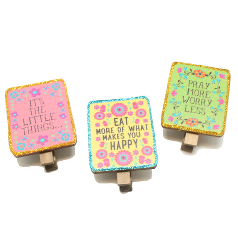 Sentiment Magnet Clips