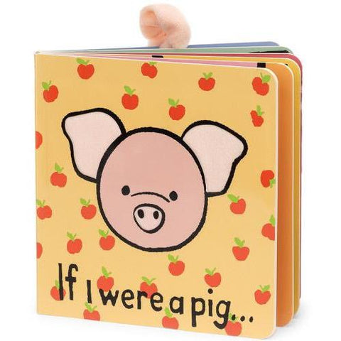Jellycat If I Were A Pig Board Book