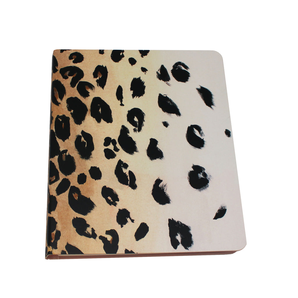 kate spade cheetah journal