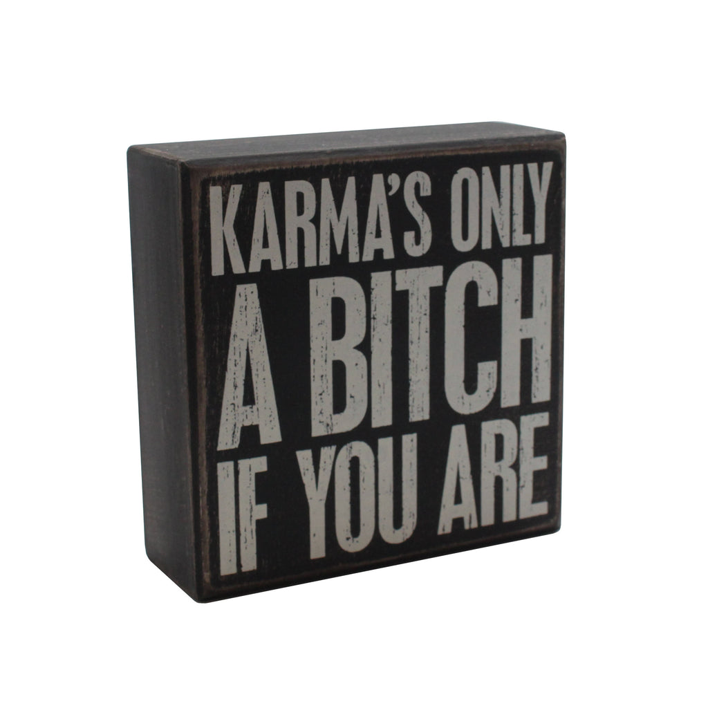 Karma Box Sign