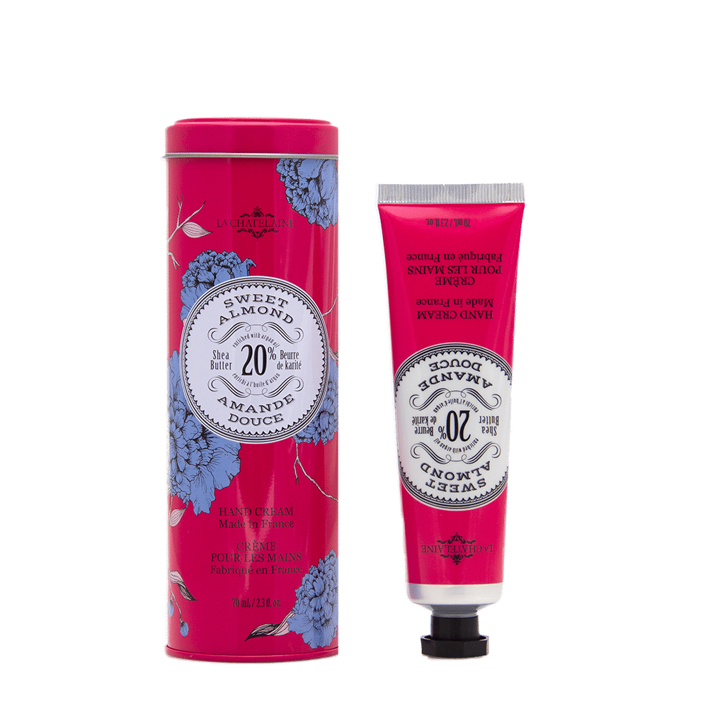 Sweet Almond Hand Cream Tin