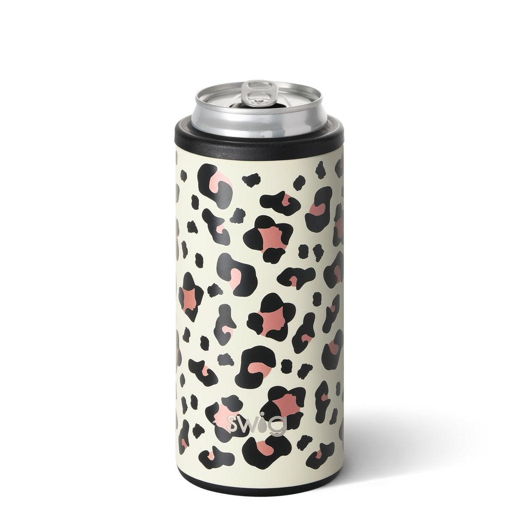 Leopard Skinny Coozie