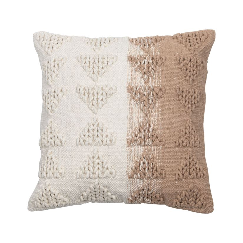 Fade Geometric Pillow