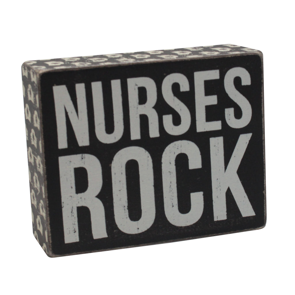 Nurses Rock Sign