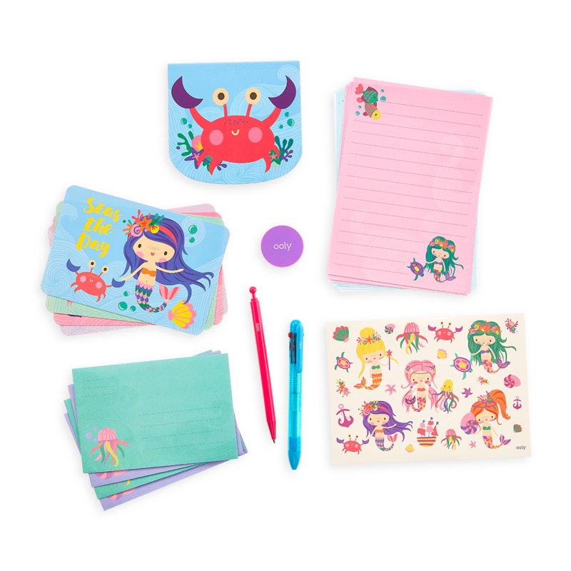 Ooly Magical Mermaids On the Go Stationery Kit