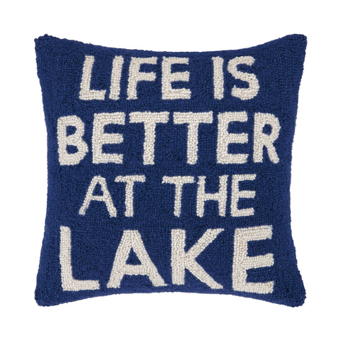 Better at the Lake Pillow