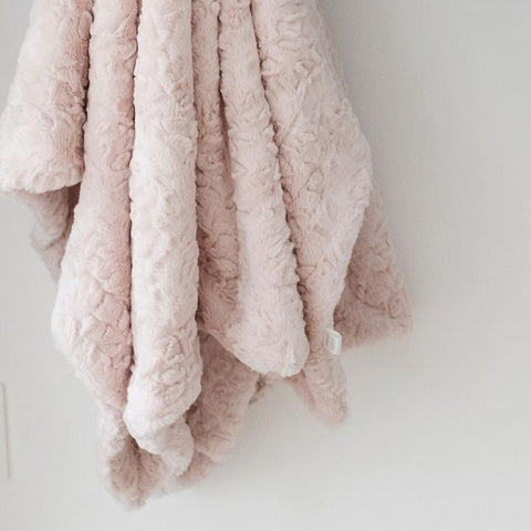 Pink Cloud Receiving Blanket