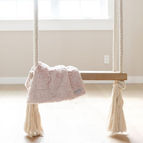 Mini Pink Cloud Blanket