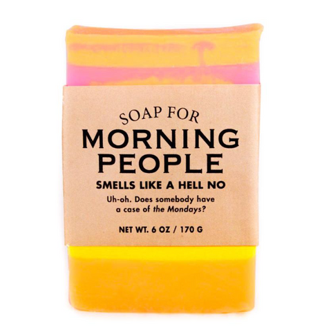 Morning People Soap