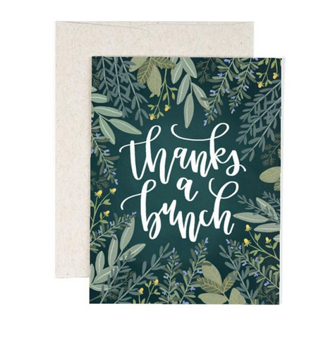 Herb Thank You Card