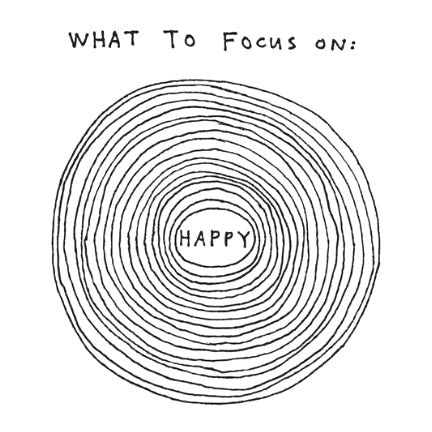 Focus on Happy Tattoo