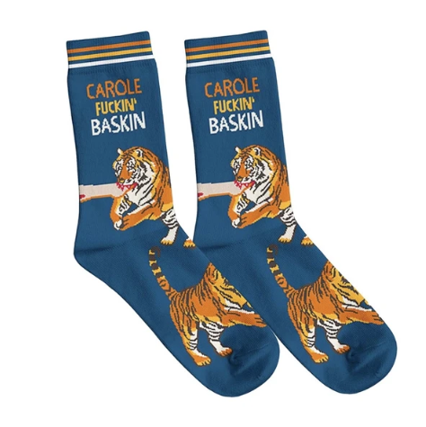 Carole Baskin Socks