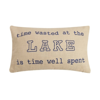 Time Well Spent Pillow
