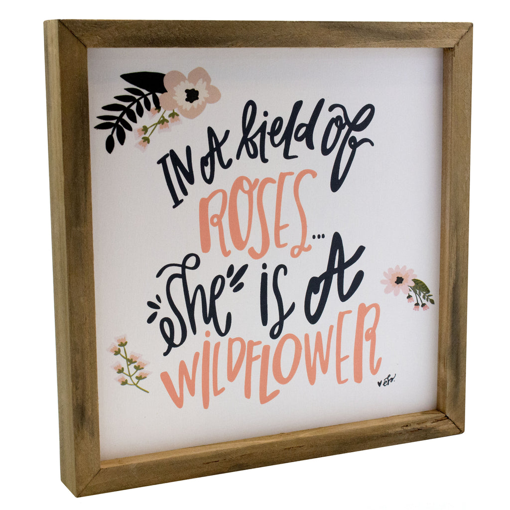 Wildflower Box Sign