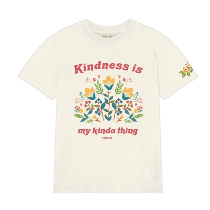 Floral Kindness Tee