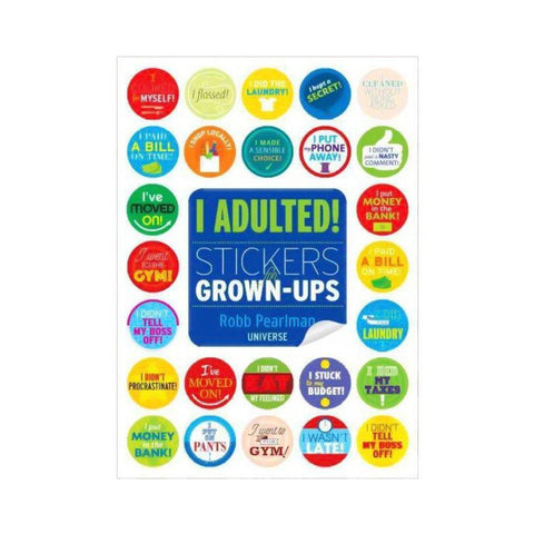 I Adulted Stickers