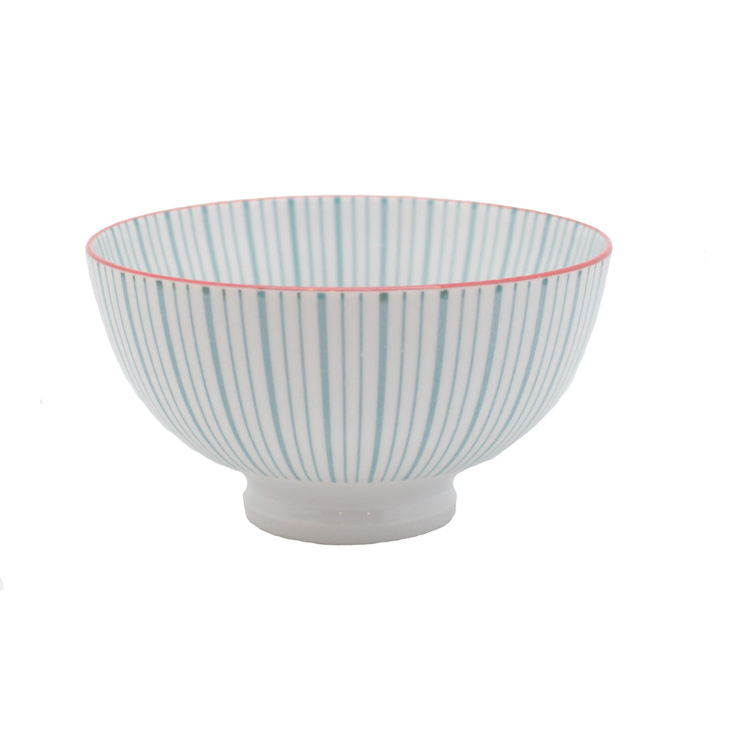 striped pattern bowl