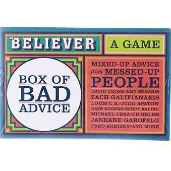 Box of Bad Advice Game