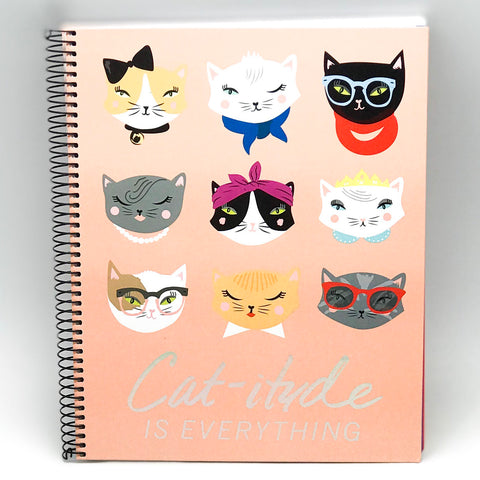 Spiral Cat Notebook