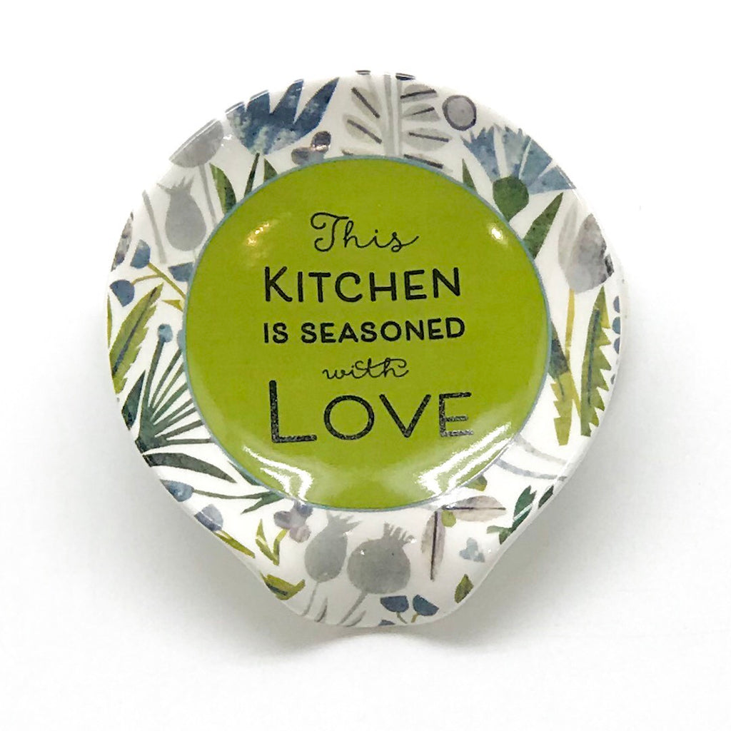 Seasoned with Love Spoon Rest