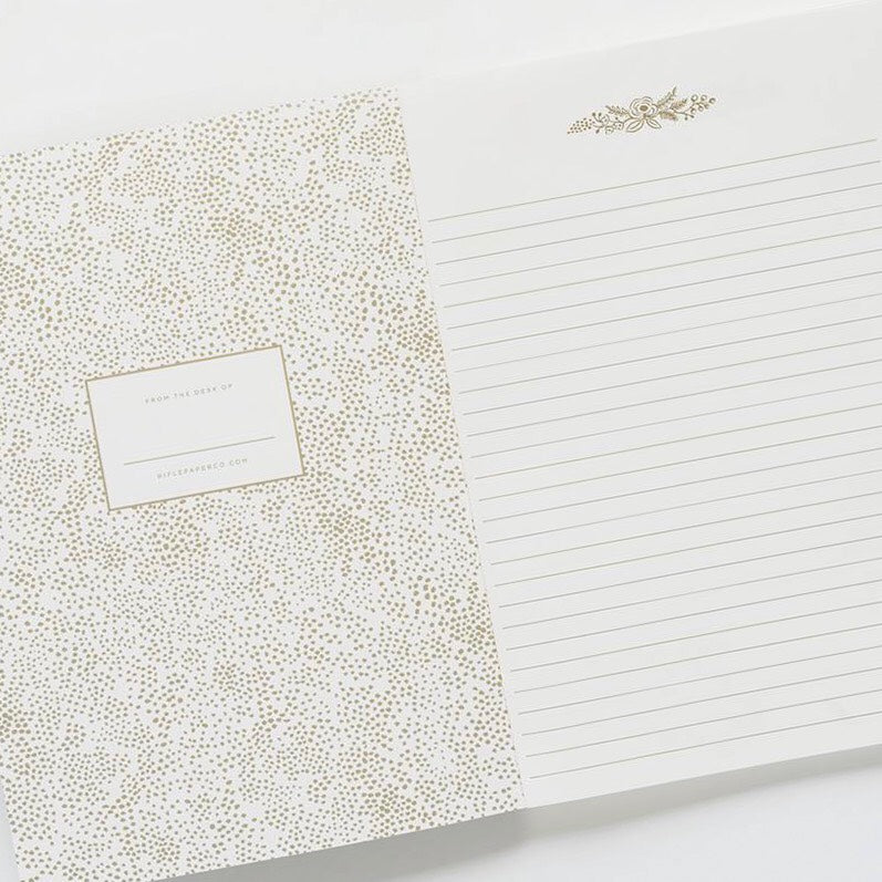 Blush Floral Notebook