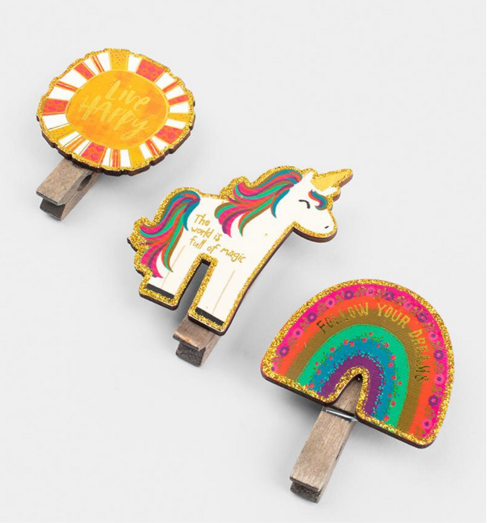 Unicorn Magnet Chip Clips