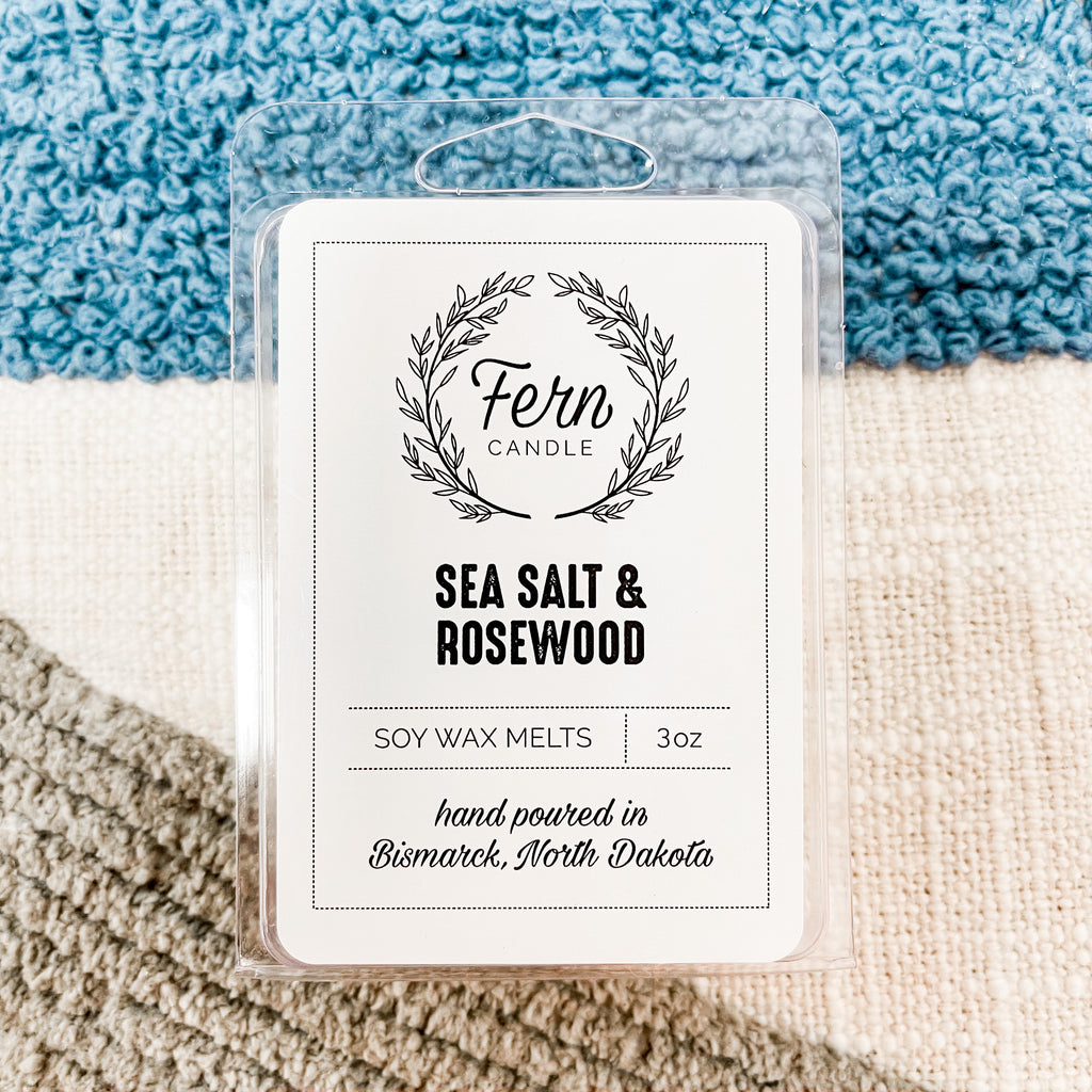 Sea Salt & Rosewood Wax Melts