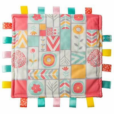 Color Block Taggie Blanket