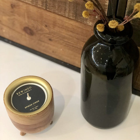 Spiked Cider Barrel Candle